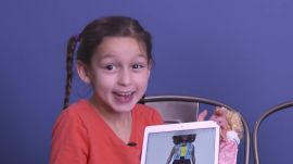 Young Girls React to Seeing the New Barbies for the First Time
