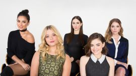 The Cast of Pretty Little Liars Take The Make Out Quiz