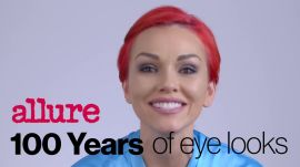 Popular Eye Makeup Trends Over the Past 100 Years