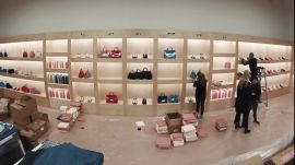 Watch Mansur Gavriel Build Its Dreamy Fall 2016 Set