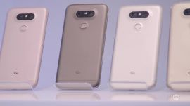 Hands-on preview of LG G5 and other new LG products