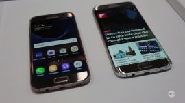 MWC 2016: Hands-on Samsung Galaxy S7 & S7 Edge