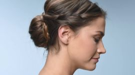 Criss-Cross Braided Bun Tutorial