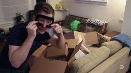 Unboxing the HTC Vive Pre