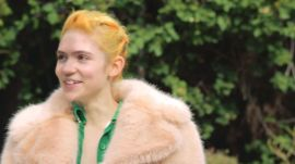 Stella McCartney Chats with Our April Cover Star, Grimes!