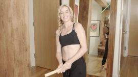 Paige Spiranac Shows Us More Household Items that Can Help Improve Your Game