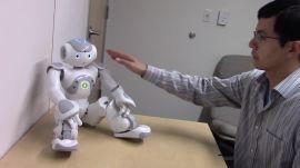 Robot arousal experiment