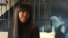 Supermodel Naomi Campbell Shares Her 5 Fast Beauty Hacks