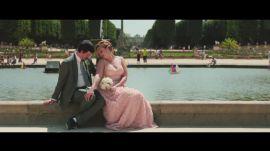 One Couple's Sweet Elopement in a Parisian Garden
