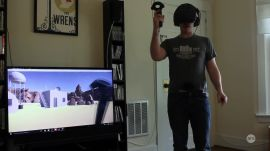 We stuffed a VR wand down our pants (for a good reason!)