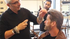 Legendary Hair Stylist Thom Priano Gets 31 Models Ready for Our September Cover Shoot