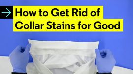 How to Get Rid of Collar Stains for Good