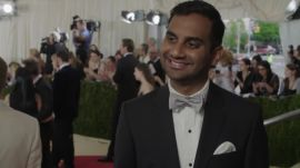 Aziz Ansari on 'Lemonade' and 'Master of None' Season 2 at Met Gala 2016