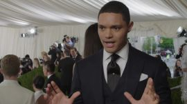 Trevor Noah on His Favorite Moment at Met Gala 2016