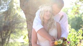 Go Inside One Couple's Barefoot Backyard Wedding in California