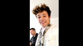 Cameron Dallas Gets Ready for the Met Gala
