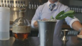 The Mint Julep at The Craft House in Louisville, Kentucky