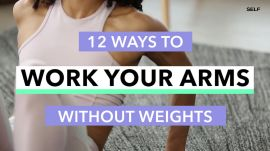 12 Ultra-Effective Arm Workout Moves You Can Do At Home
