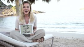 Watch Margot Robbie Define 50 Australian Slang Terms in Under 4 Minutes