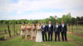 This North Carolina Bash Proves You Don't Need to Go to Napa for a Vineyard Wedding