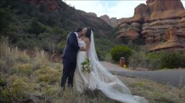 An East-Meets-West Wedding in Sedona, Arizona