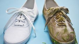 How to Clean White Sneakers with Jim Moore