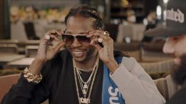 2 Chainz Tries On $48K Vintage Sunglasses
