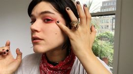 Watch French It Girl Soko's Trick for the Ultimate Moody Eyeshadow