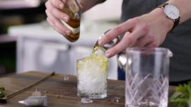 Handmade Pebble Ice and Mint Juleps = Summer