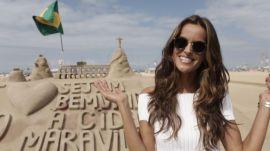 Victoria's Secret Model Izabel Goulart's Rio Walking Tour