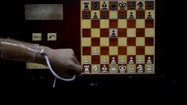 A flexible hydrogel-based touchpad lets you play chess on your arm