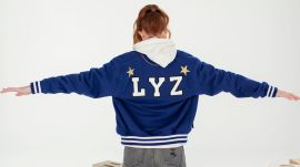 Designer Lyz Olko Shows Us How To DIY A Varsity Jacket