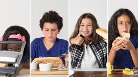 Kids Try 100 Years of Sandwiches