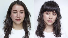 Hairstory Staff Makeover: Bold Bangs Transformation