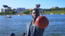 Let Antonio Brown Show You How to Play Street Football (And Dance) in Your Best Suit