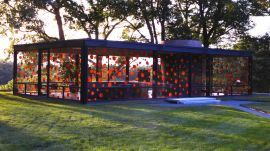 "Japanese Artist Yayoi Kusama Brings Her ""Dots Obsession"" to the Glass House"