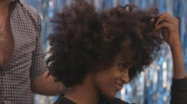 Hair Transformation: Watch Model Lula Get a Curly Afro Pixie Cut