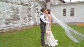 A Rustic Ballroom Wedding in Ohio