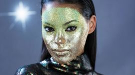 This EPIC Glitter Mask Is an Instant Halloween Costume