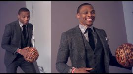 See NBA Star Russell Westbrook's Best Outfits (and Basketball Moves) from His GQ Cover Shoot