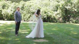 One Couple's Sunny Outdoor Wedding in Ohio