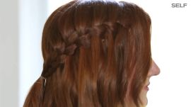 How To Create A Waterfall Braid