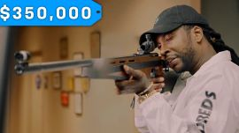 2 Chainz Checks Out a $350K Gun