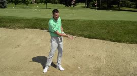 A Simple Trick To Practice Bunker Shots