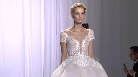 Reem Acra Walks Us Through Her Fall 2017 Wedding Dresses