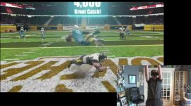 VR Sports Challenge Football gameplay demo | Ars Technica