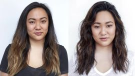 Hairstory Staff Makeover: Layered Beach Waves