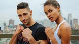 Watch This Victoria's Secret Model Kick BUTT In This Boxing Workout