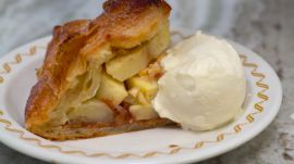 Apple And Nut-Butter Puff Pastry Tarts
