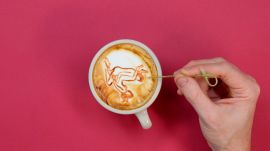 The 7 Best Postions for Women to Achieve Orgasm, Illustrated in Latte Art